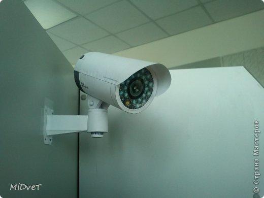 Камера видеонаблюдения из бумаги своими руками в домашних