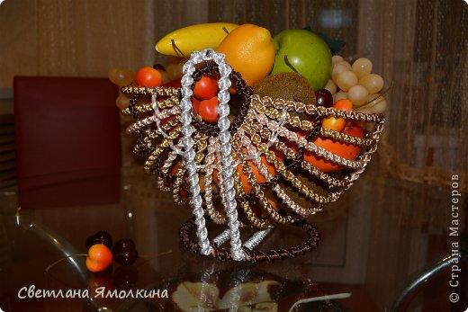 Мастер-класс Поделка изделие Макраме Мастер-класс Макраме Корзинка для фруктов  Нитки фото 26