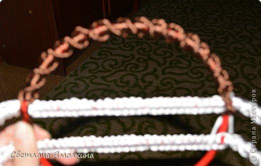 Мастер-класс Поделка изделие Макраме Мастер-класс Макраме Корзинка для фруктов  Нитки фото 7