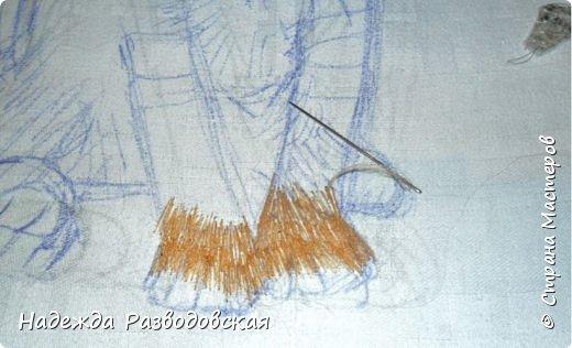 В данном мастер-классе по просьбам любителей вышивки я решила показать наглядно, как я вышиваю гладью синтетическими нитками - на примере кота Рыжика. Р.S.Дополнено 14.05.2015г. Обнаружила свой мастер класс по вышивке гладью кота Рыжика на сайте http://svoimi-rukami-club.ru/мастер-класс-по-вышивке-гладью-рыжего-кота/ с заретушированными и вырезанными логотипами сайта Страны Мастеров и своего ника без моего разрешения и без указания ссылки на сайт Страны Мастеров. Советую мастерам заглянуть на этот сайт и проверить, нет ли там ваших работ и мастер-классов, с которыми поступили точно также, как с моим МК по вышивке гладью кота Рыжика. фото 10