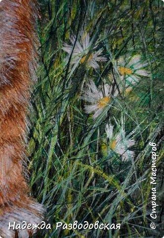 В данном мастер-классе по просьбам любителей вышивки я решила показать наглядно, как я вышиваю гладью синтетическими нитками - на примере кота Рыжика. Р.S.Дополнено 14.05.2015г. Обнаружила свой мастер класс по вышивке гладью кота Рыжика на сайте http://svoimi-rukami-club.ru/мастер-класс-по-вышивке-гладью-рыжего-кота/ с заретушированными и вырезанными логотипами сайта Страны Мастеров и своего ника без моего разрешения и без указания ссылки на сайт Страны Мастеров. Советую мастерам заглянуть на этот сайт и проверить, нет ли там ваших работ и мастер-классов, с которыми поступили точно также, как с моим МК по вышивке гладью кота Рыжика. фото 36