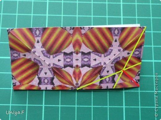 Это второй член королевской четы. Фараон (ну кому ж еще быть?)   Name: Pharaoh Designer: Maria Sinayskaya                 Diadem kusudama https://www.flickr.com/photos/51642560@N02/5096622060/in/set-72157624275437833/ Variation: Uniya Filonova Parts: 30 + 60 Paper: 7,5 x 7,5 + 5 x 5 Final height: ~ 12 cm Joint: no glue фото 6