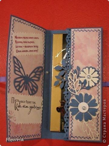 В этом году был у меня заказ от школьников))) Подарочки для девочек - шоколадка в упаковке. фото 3