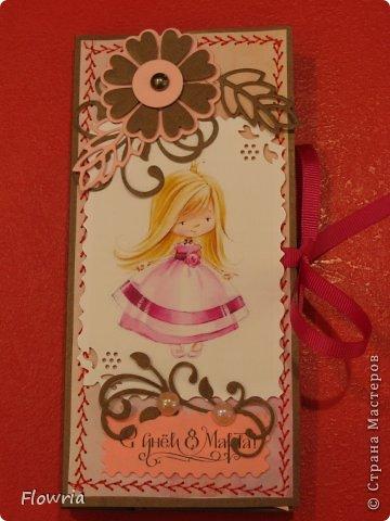 В этом году был у меня заказ от школьников))) Подарочки для девочек - шоколадка в упаковке. фото 6