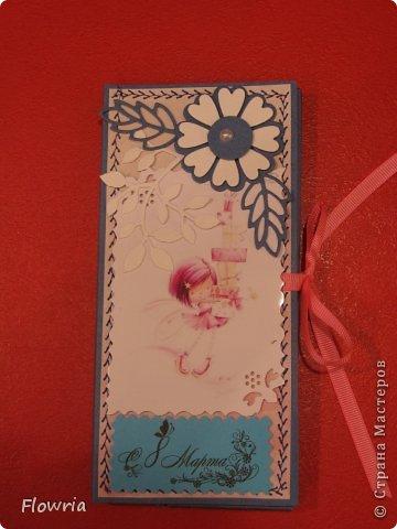 В этом году был у меня заказ от школьников))) Подарочки для девочек - шоколадка в упаковке. фото 12