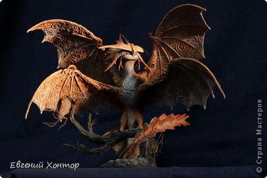 Скульптура Лепка Cloudjumper он же Грозокрыл он же Облачный прыгун из Как приручить дракона-2 Краска Пластика