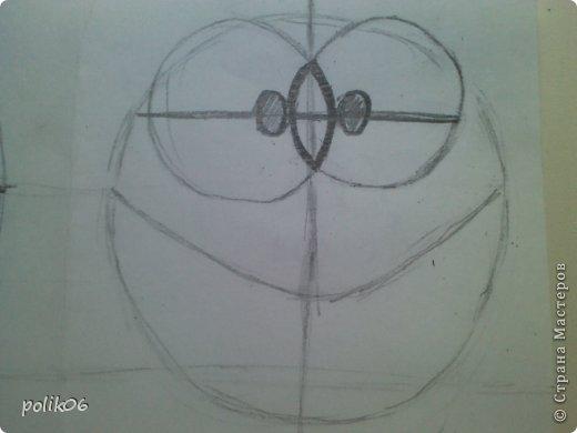 Сегодня я покажу, как я рисую этого прелестного зверька. Для тех, кто не знает – это герой популярной компьютерной игры Cut the Rope – Ам Ням (Om Nom). Он о-о-о-очень любит конфеты. фото 8