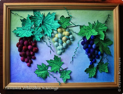 Долго любовалась виноградом   Татьяны Saphir. Вот решила свой вырастить.