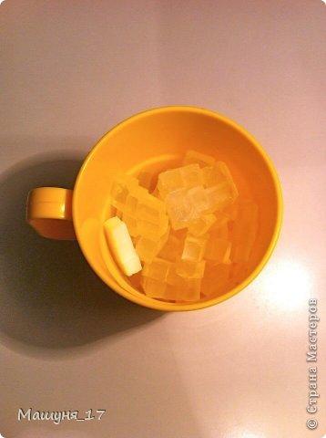 Что-то мне захотелось сделать ещё один мастер-класс)) Ромашка - мыло очень простенькое, МК для начинающих :) фото 5