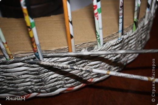 Мастер-класс Поделка изделие Плетение Малюсенький МК Бумага газетная Трубочки бумажные фото 4