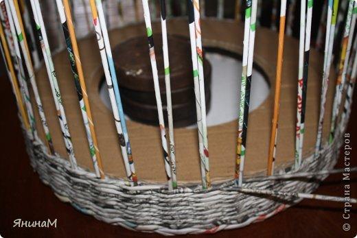 Мастер-класс Поделка изделие Плетение Малюсенький МК Бумага газетная Трубочки бумажные фото 5