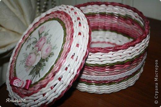 Мастер-класс Поделка изделие Плетение Малюсенький МК Бумага газетная Трубочки бумажные фото 15