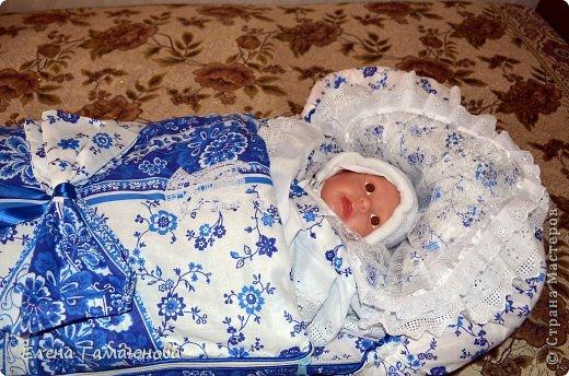 Доброго времени суток,дорогие рукодельницы. Скоро в нашей семье пополнение. Малыш родится в середине сентября и поэтому комплект осенний.В одеяле тонкий синтепон.  фото 12