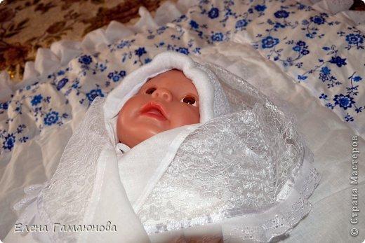 Доброго времени суток,дорогие рукодельницы. Скоро в нашей семье пополнение. Малыш родится в середине сентября и поэтому комплект осенний.В одеяле тонкий синтепон.  фото 7