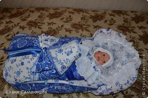 Доброго времени суток,дорогие рукодельницы. Скоро в нашей семье пополнение. Малыш родится в середине сентября и поэтому комплект осенний.В одеяле тонкий синтепон.  фото 13
