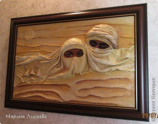 Картина панно рисунок Пустыня