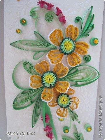 Здравствуйте милые мастерицы! Приглашаю Вас посмотреть новые  поздравительные открытки к Дню Рождения! Лето -пора отпусков  и дней рождений. Хочется подарить летнее настроение и тепло полевых цветов! фото 9