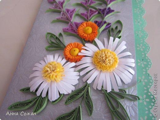 Здравствуйте милые мастерицы! Приглашаю Вас посмотреть новые  поздравительные открытки к Дню Рождения! Лето -пора отпусков  и дней рождений. Хочется подарить летнее настроение и тепло полевых цветов! фото 2