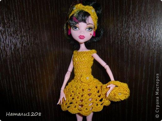 Вязаная одежда для кукол монстер хай своими руками