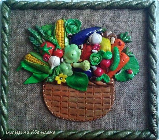 Овощи и фрукты тесто соленое фото 1