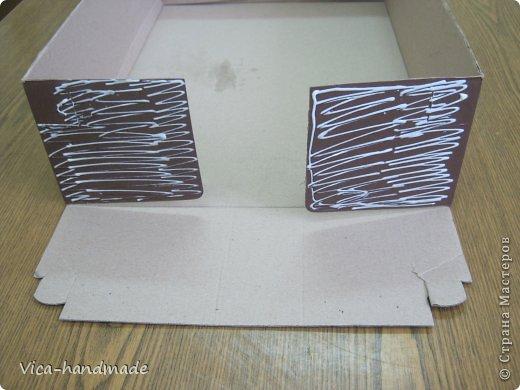 """Всем привет!!! Как я и обещала, выкладываю МК как я делаю свои """"домики"""" для альбомов. Альбом для этого комплекта можно посмотреть здесь http://stranamasterov.ru/node/796886 Как я сделала альбом, то есть МК здесь http://stranamasterov.ru/node/797400 На примере этого набора, я покажу как обтянуть тканью коробки двух видов: со снимающейся крышкой и с откидной крышкой. Т.е МК разделим на 2 варианта... Итак начнем... фото 4"""