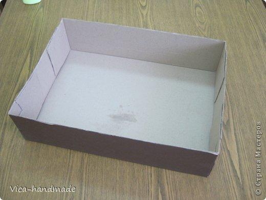 """Всем привет!!! Как я и обещала, выкладываю МК как я делаю свои """"домики"""" для альбомов. Альбом для этого комплекта можно посмотреть здесь http://stranamasterov.ru/node/796886 Как я сделала альбом, то есть МК здесь http://stranamasterov.ru/node/797400 На примере этого набора, я покажу как обтянуть тканью коробки двух видов: со снимающейся крышкой и с откидной крышкой. Т.е МК разделим на 2 варианта... Итак начнем... фото 6"""