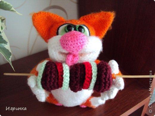 """Здравствуй, Страна! В продолжение кошачей темы сегодня представляю работу """"Вот оно - счастье!"""" Автор этого замечательного, сытого, счастливого кота Светлана Хабукова. фото 5"""