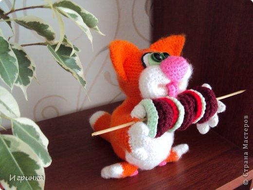 """Здравствуй, Страна! В продолжение кошачей темы сегодня представляю работу """"Вот оно - счастье!"""" Автор этого замечательного, сытого, счастливого кота Светлана Хабукова. фото 1"""