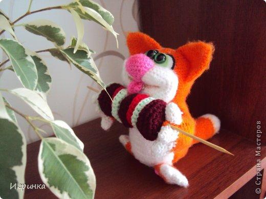 """Здравствуй, Страна! В продолжение кошачей темы сегодня представляю работу """"Вот оно - счастье!"""" Автор этого замечательного, сытого, счастливого кота Светлана Хабукова. фото 2"""