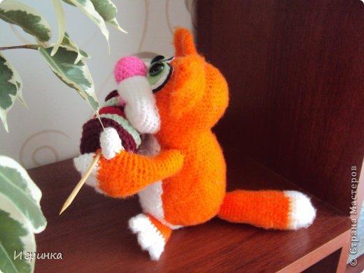 """Здравствуй, Страна! В продолжение кошачей темы сегодня представляю работу """"Вот оно - счастье!"""" Автор этого замечательного, сытого, счастливого кота Светлана Хабукова. фото 3"""