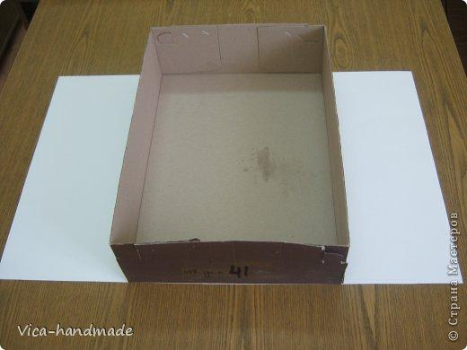"""Всем привет!!! Как я и обещала, выкладываю МК как я делаю свои """"домики"""" для альбомов. Альбом для этого комплекта можно посмотреть здесь http://stranamasterov.ru/node/796886 Как я сделала альбом, то есть МК здесь http://stranamasterov.ru/node/797400 На примере этого набора, я покажу как обтянуть тканью коробки двух видов: со снимающейся крышкой и с откидной крышкой. Т.е МК разделим на 2 варианта... Итак начнем... фото 9"""