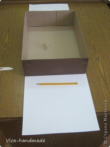 """Всем привет!!! Как я и обещала, выкладываю МК как я делаю свои """"домики"""" для альбомов. Альбом для этого комплекта можно посмотреть здесь http://stranamasterov.ru/node/796886 Как я сделала альбом, то есть МК здесь http://stranamasterov.ru/node/797400 На примере этого набора, я покажу как обтянуть тканью коробки двух видов: со снимающейся крышкой и с откидной крышкой. Т.е МК разделим на 2 варианта... Итак начнем... фото 10"""
