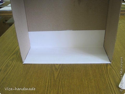 """Всем привет!!! Как я и обещала, выкладываю МК как я делаю свои """"домики"""" для альбомов. Альбом для этого комплекта можно посмотреть здесь http://stranamasterov.ru/node/796886 Как я сделала альбом, то есть МК здесь http://stranamasterov.ru/node/797400 На примере этого набора, я покажу как обтянуть тканью коробки двух видов: со снимающейся крышкой и с откидной крышкой. Т.е МК разделим на 2 варианта... Итак начнем... фото 19"""