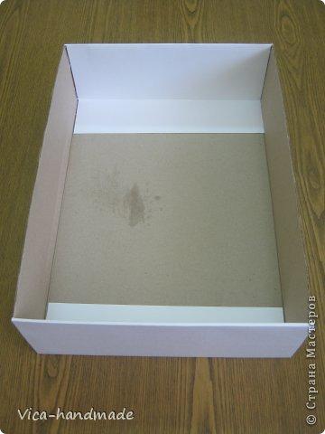"""Всем привет!!! Как я и обещала, выкладываю МК как я делаю свои """"домики"""" для альбомов. Альбом для этого комплекта можно посмотреть здесь http://stranamasterov.ru/node/796886 Как я сделала альбом, то есть МК здесь http://stranamasterov.ru/node/797400 На примере этого набора, я покажу как обтянуть тканью коробки двух видов: со снимающейся крышкой и с откидной крышкой. Т.е МК разделим на 2 варианта... Итак начнем... фото 20"""
