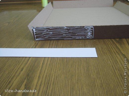 """Всем привет!!! Как я и обещала, выкладываю МК как я делаю свои """"домики"""" для альбомов. Альбом для этого комплекта можно посмотреть здесь http://stranamasterov.ru/node/796886 Как я сделала альбом, то есть МК здесь http://stranamasterov.ru/node/797400 На примере этого набора, я покажу как обтянуть тканью коробки двух видов: со снимающейся крышкой и с откидной крышкой. Т.е МК разделим на 2 варианта... Итак начнем... фото 28"""