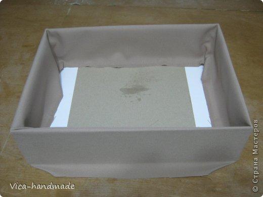 """Всем привет!!! Как я и обещала, выкладываю МК как я делаю свои """"домики"""" для альбомов. Альбом для этого комплекта можно посмотреть здесь http://stranamasterov.ru/node/796886 Как я сделала альбом, то есть МК здесь http://stranamasterov.ru/node/797400 На примере этого набора, я покажу как обтянуть тканью коробки двух видов: со снимающейся крышкой и с откидной крышкой. Т.е МК разделим на 2 варианта... Итак начнем... фото 41"""