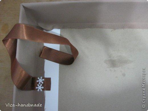"""Всем привет!!! Как я и обещала, выкладываю МК как я делаю свои """"домики"""" для альбомов. Альбом для этого комплекта можно посмотреть здесь http://stranamasterov.ru/node/796886 Как я сделала альбом, то есть МК здесь http://stranamasterov.ru/node/797400 На примере этого набора, я покажу как обтянуть тканью коробки двух видов: со снимающейся крышкой и с откидной крышкой. Т.е МК разделим на 2 варианта... Итак начнем... фото 46"""