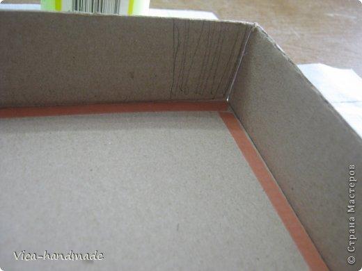 """Всем привет!!! Как я и обещала, выкладываю МК как я делаю свои """"домики"""" для альбомов. Альбом для этого комплекта можно посмотреть здесь http://stranamasterov.ru/node/796886 Как я сделала альбом, то есть МК здесь http://stranamasterov.ru/node/797400 На примере этого набора, я покажу как обтянуть тканью коробки двух видов: со снимающейся крышкой и с откидной крышкой. Т.е МК разделим на 2 варианта... Итак начнем... фото 72"""