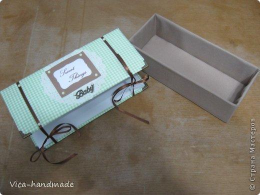 """Всем привет!!! Как я и обещала, выкладываю МК как я делаю свои """"домики"""" для альбомов. Альбом для этого комплекта можно посмотреть здесь http://stranamasterov.ru/node/796886 Как я сделала альбом, то есть МК здесь http://stranamasterov.ru/node/797400 На примере этого набора, я покажу как обтянуть тканью коробки двух видов: со снимающейся крышкой и с откидной крышкой. Т.е МК разделим на 2 варианта... Итак начнем... фото 118"""