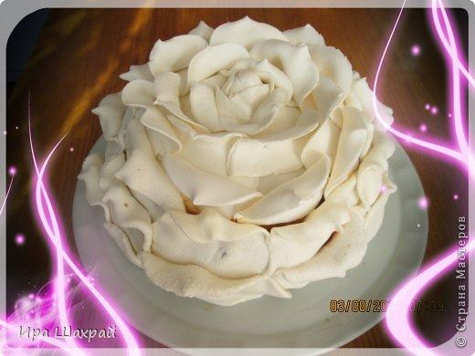 Кулинария Мастер-класс Моделирование конструирование Торт РОЗА МК по украшению Продукты пищевые фото 1