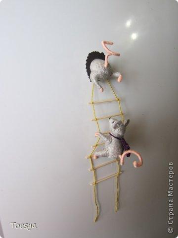 И снова здравствуйте ) Честно говоря не ожидала, что так быстро получится МК сделать, но моя мамулечка когда увидела каких мышек я делаю тоже захотела себе такой магнит. Желание мамы - закон, так что предлагаю мой вариант изготовления этих милашек. фото 37