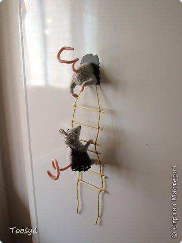 И снова здравствуйте ) Честно говоря не ожидала, что так быстро получится МК сделать, но моя мамулечка когда увидела каких мышек я делаю тоже захотела себе такой магнит. Желание мамы - закон, так что предлагаю мой вариант изготовления этих милашек. фото 1