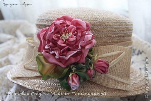 "Брошь ""Роза Флорибунда"" фото 3"