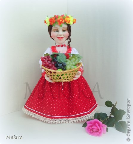 кукла-грелка на чайник от MAKIRY фото 2