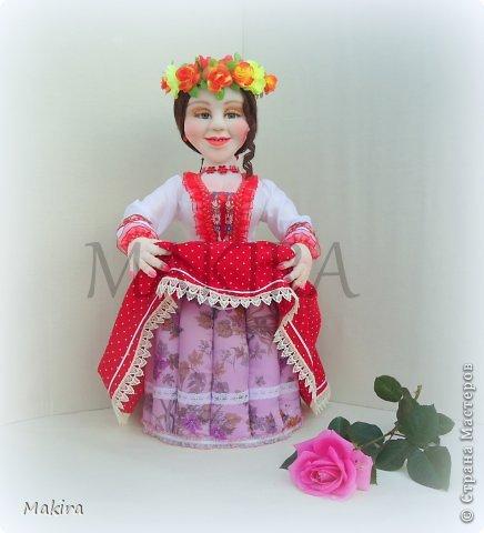 кукла-грелка на чайник от MAKIRY фото 5