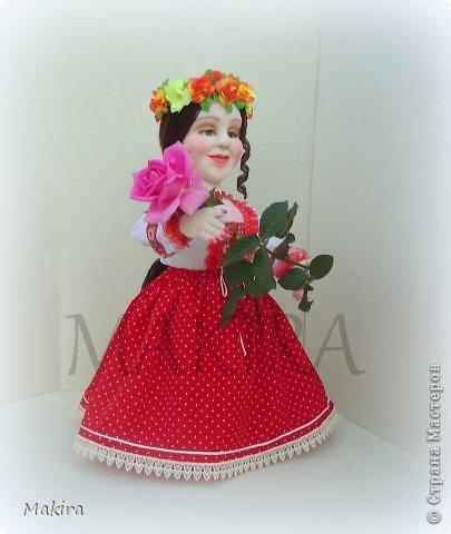 кукла-грелка на чайник от MAKIRY фото 4