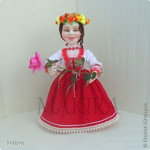 кукла-грелка на чайник от MAKIRY фото 3