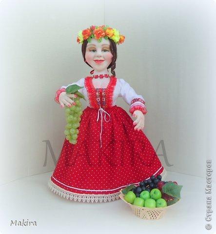 кукла-грелка на чайник от MAKIRY фото 1