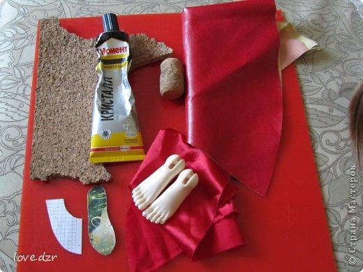 Еще один мк по созданию обуви для кукол. фото 2