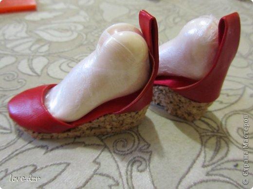 Еще один мк по созданию обуви для кукол. фото 34